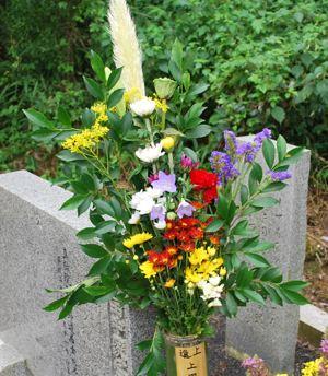 お墓用のお花