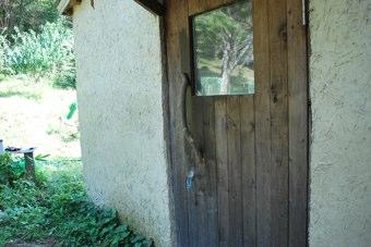 バク小屋ドア取って