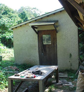 バク小屋入り口