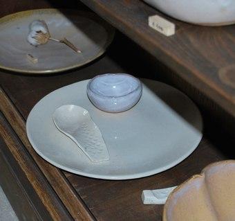 香豊堂白い皿