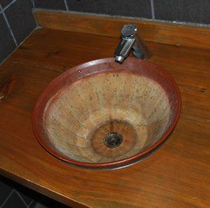 すり鉢手洗い