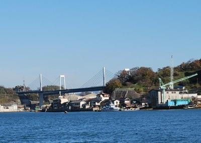 渡船からしまなみ海道