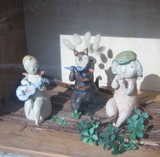 ハチドリお迎え陶器