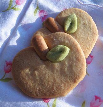 リンゴクッキー