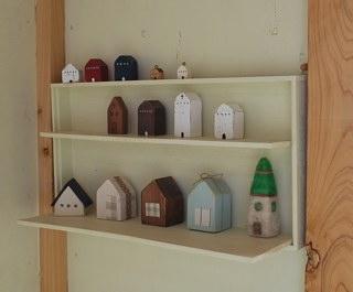 小屋の中のお家