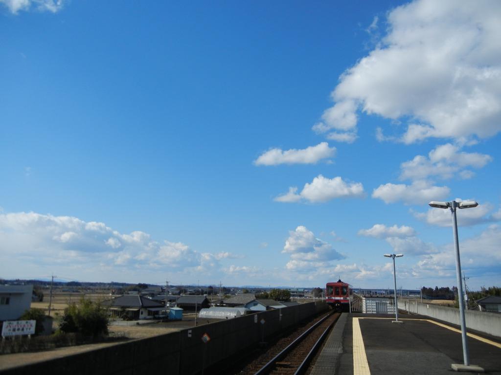 大洗鹿島線 常澄駅(2011/2/13)