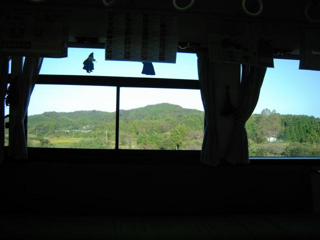 日本のムーミン谷を通過中