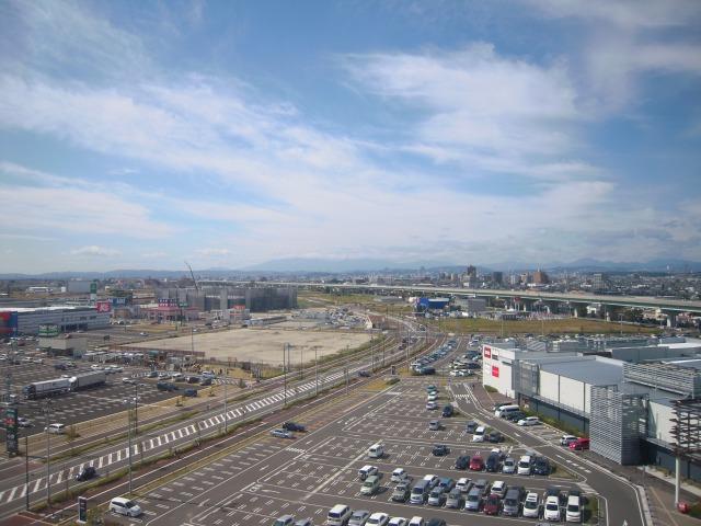 三井アウトレットパーク 仙台港の観覧車からの展望1