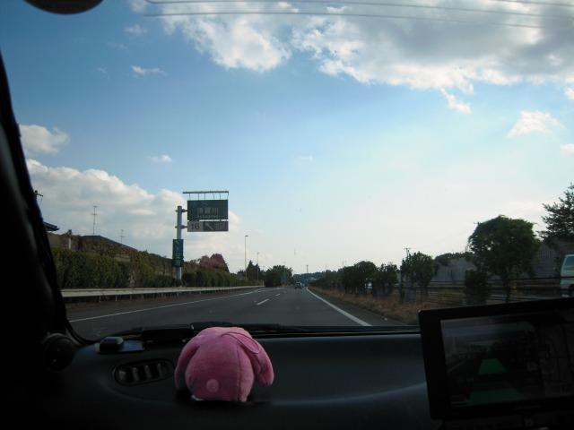 東北道上り(須賀川IC付近)