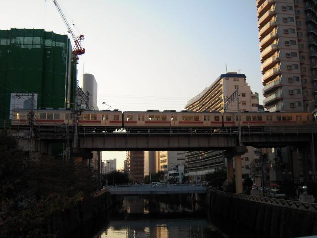 東急池上線@五反田発車