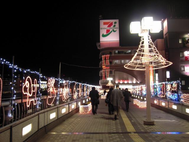 上尾駅前イルミネーション(イトーヨーカドー前)