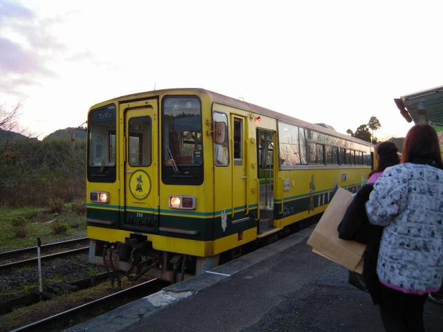 国吉駅にて(20091123)