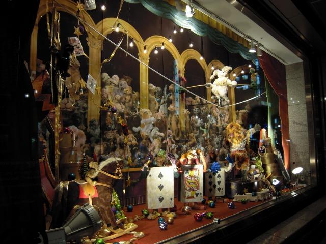 三越2009クリスマスのショーウィンドウ