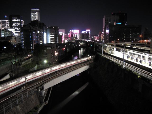 聖橋(御茶ノ水駅前)にて