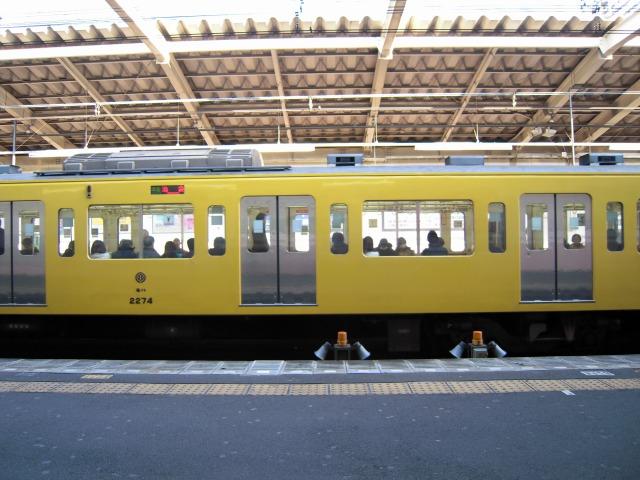 黄色い「電車」