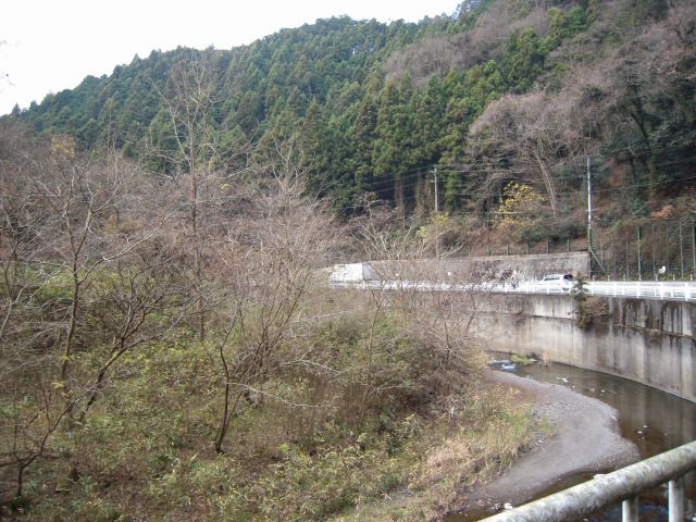 国道299号線(飯能市吾野)