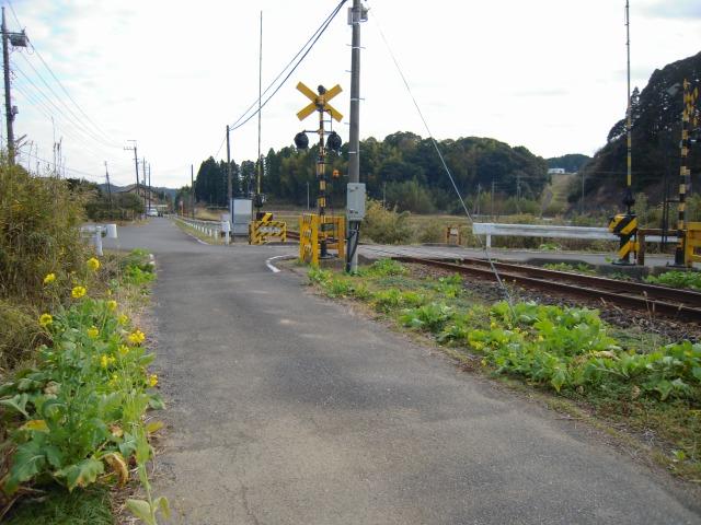 小谷松駅付近(2010.01.04)