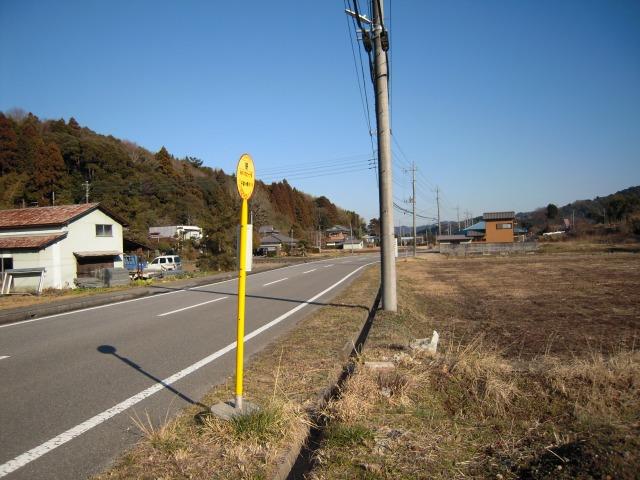 高速バス「カピーナ号」笹バス停