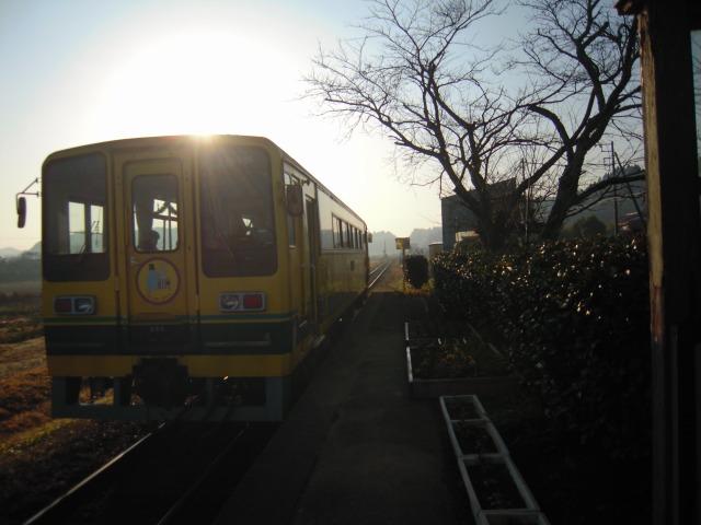 新田野駅(下り7:58発[9D])