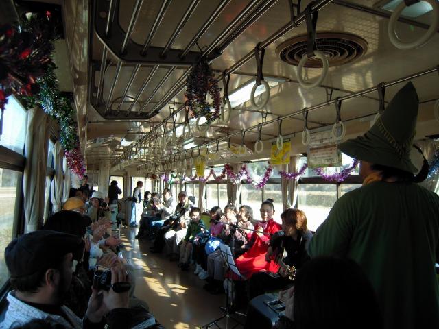1/31ムーミン列車ライブイベントにて
