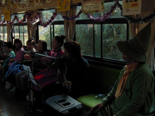 1/31ムーミン列車ライブイベントにて 2