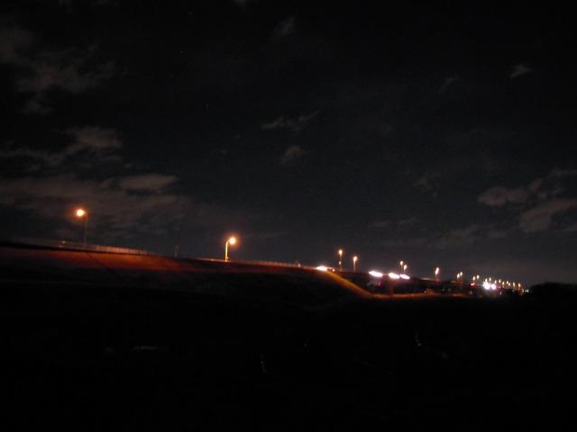 夜の開平橋