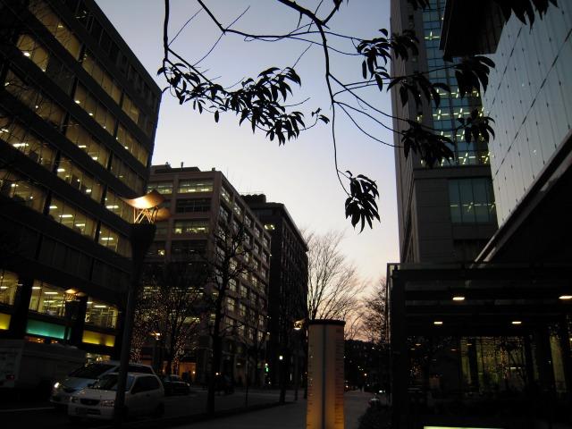 丸の内にて(2010/02/09)