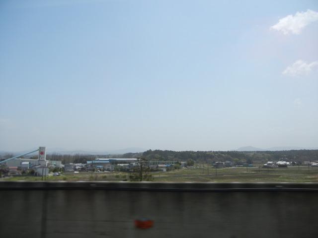 2011/5/4 つばさ車内より(宇都宮~郡山)