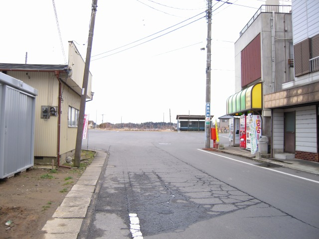旧常陸小川駅(現小川駅バスターミナル)2