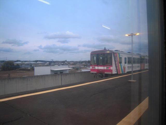 東水戸駅にて交換「またね?♪」
