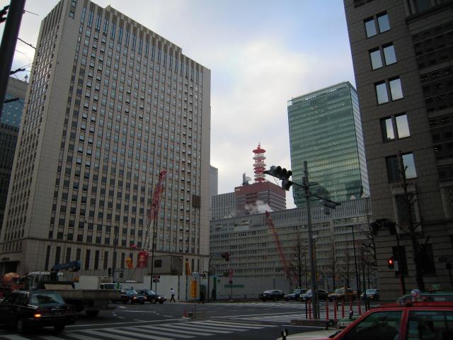 丸の内にて(2010/2/18)