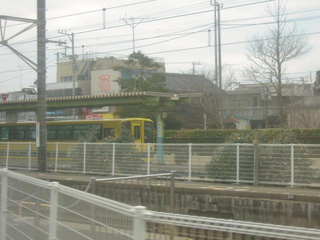 2010/02/21大原駅に停車中の10:39発列車(15D)
