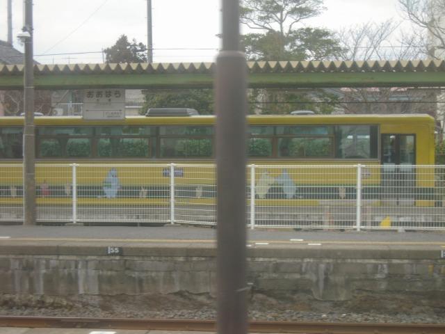 2010/02/21大原駅に停車中の10:39発列車(15D) 2