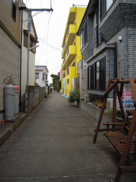 勝浦のとある路地(2010/2/21)