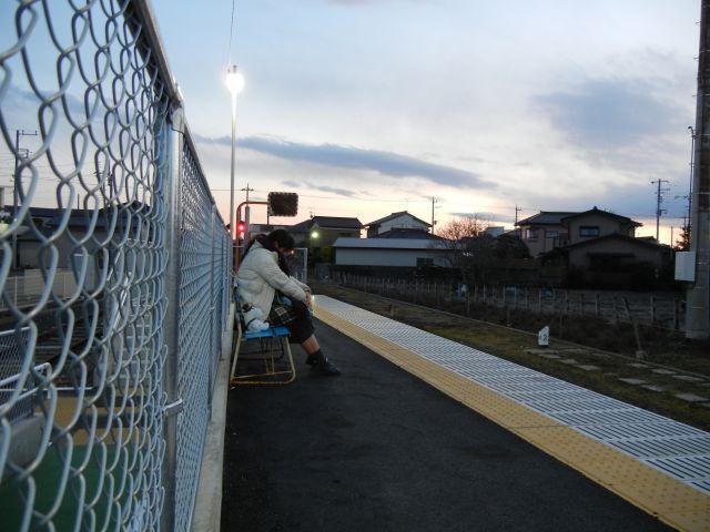 ひたちなか海浜鉄道阿字ヶ浦駅  2011/2/13