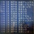 2011年2月頃のメモリアルプレート