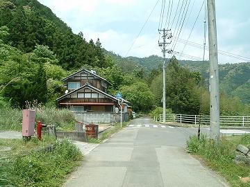 泉村道路元標3