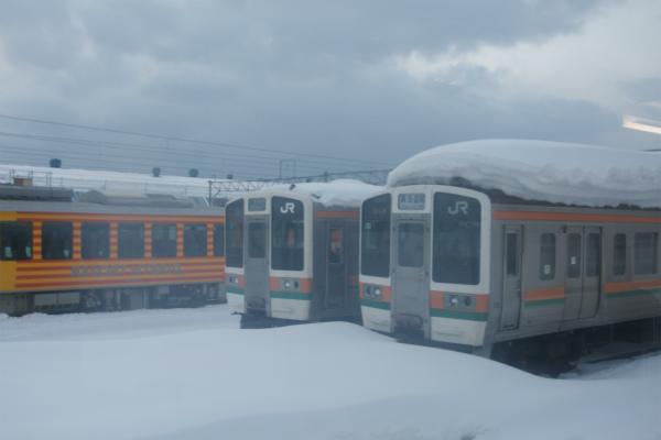 東海道線・・・でこれだと災害です