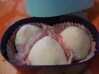 漉し餡と白餡の苺大福3個