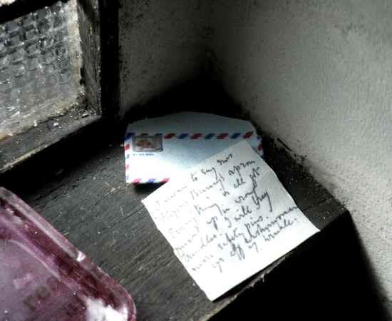 カフェ手紙