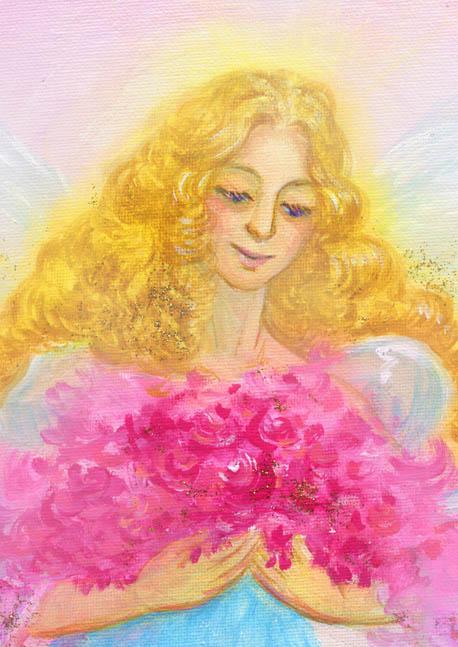 谷口礼子様・豊かな愛の天使トリミングa
