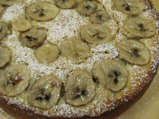 スタバ風バナナケーキ