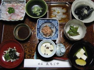夕食(ゑちご屋:奈良井宿)
