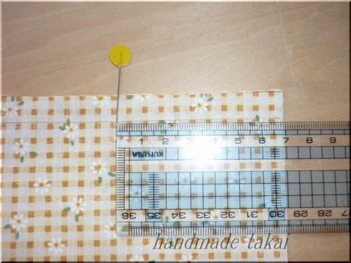 四角いカバンの作り方 (5