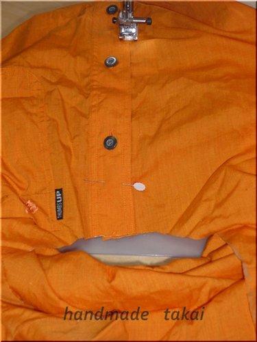 シャツを利用したエコバック (10