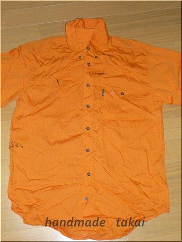 シャツを利用したエコバック (1