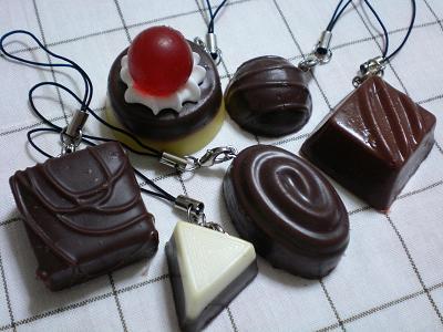 チョコレートストラップ♪