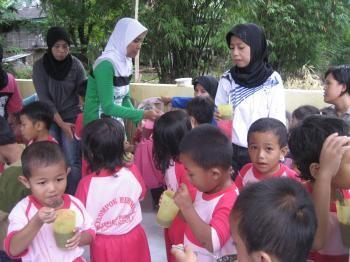 インドネシアの子どもたち