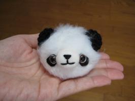 編みパンダ