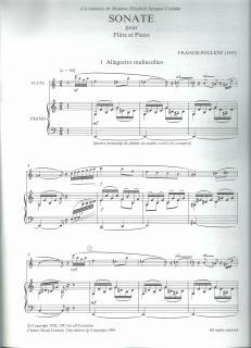Poulenc Flsonata2
